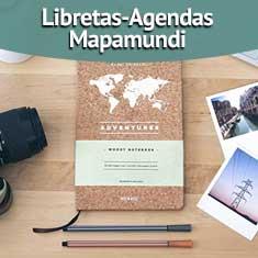 Fotografía de Libretas-Agendas Mapamundi