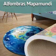 Fotografía de Alfombras mapamundi