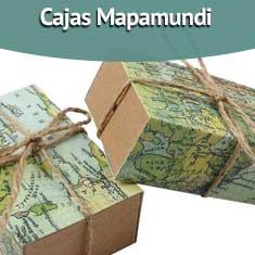 Fotografía de Cajas Mapamundi