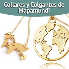 Imagen de Collares y Colgantes de Mapamundi