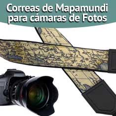 Imagen de Correas de Mapamundi para cámaras de Fotos