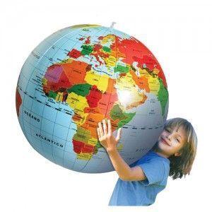 Globo Terraqueo Hinchable para niños