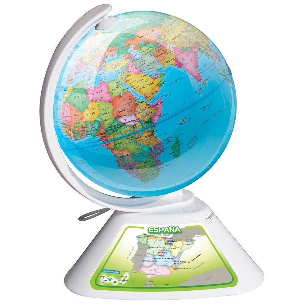 Imagen del globo interactivo del mundo Oregon Scientific