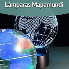 Fotografía de Lámparas Mapamundi