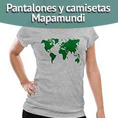 Pantalones y camisetas Mapamundi