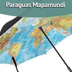 Imagen de Paraguas Mapamundi