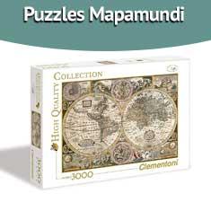 Imagen de Puzzles Mapamundi